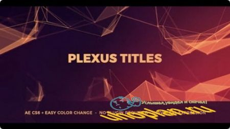 Plexus Titles - Project for After Effects (Videohive)