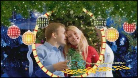 Проект ProShow Producer - Christmas 3D-Frames
