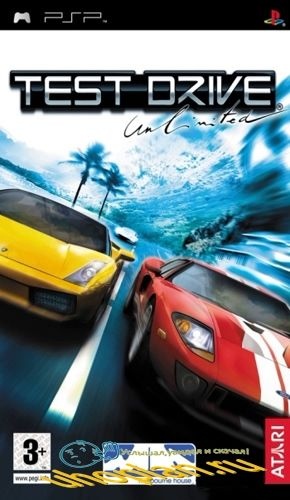 Test Drive Unlimited (PSP/CSO/FULL/RUS/Patched)