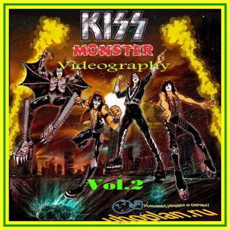 Kiss - Monster Videography Vol.2 (2010) DVDRip