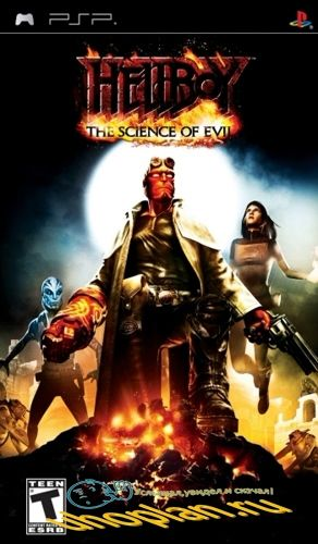 Hellboy The Science Of Evil (PSP/CSO/FULL/RUS/Patched)