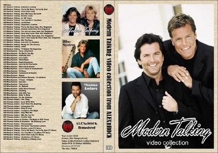 Modern Talking - Video collection (2018) DVDRip