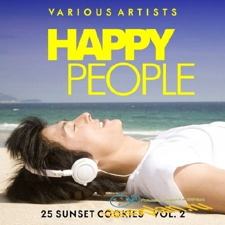 HAPPY PEOPLE VOL. 2 (25 SUNSET COOKIES) (2018)