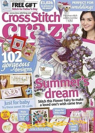 Cross Stitch Crazy №178 2013 Jule