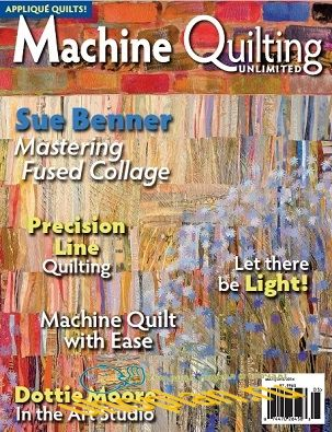Machine Quilting Unlimited Vol.XIV No.3 2014