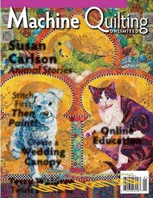 Machine Quilting Unlimited Vol.XVI №1 2016 January/February