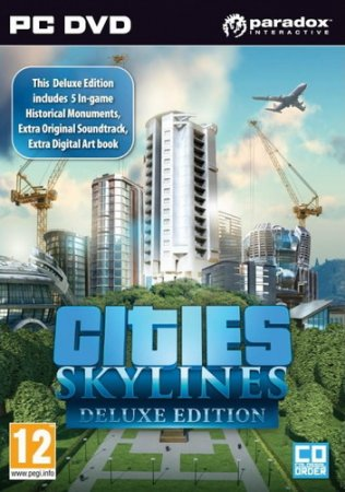 Cities: Skylines - Deluxe Edition v 1.2.2 + 3 DLC (2015/PC/RUS) RePack by R.G. Механики