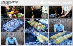 Шашлык из картофеля или овощной шашлык (2015)