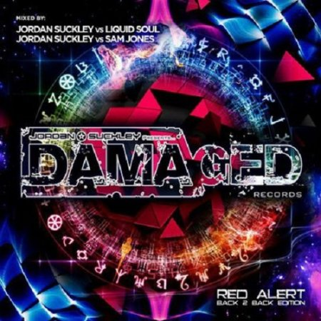 VA - Damaged Red Alert - Back 2 Back Edition (2015)