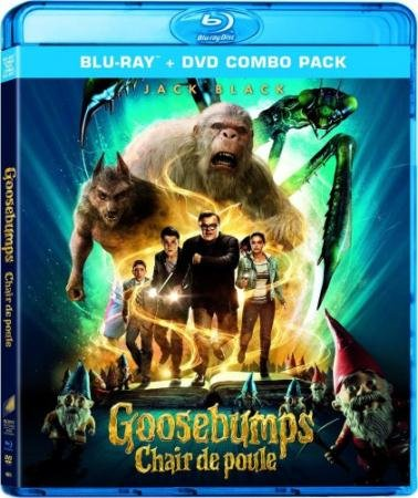 Ужастики  / Goosebumps  (2015) HDRip