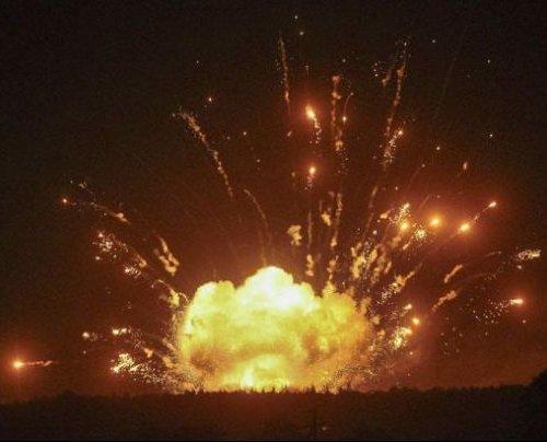 В результате взрывов под Винницей Украина потеряла больше снарядов чем на Донбассе