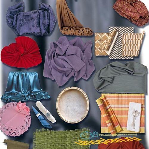 Фотошоп Png клипарты - Красивые ткани