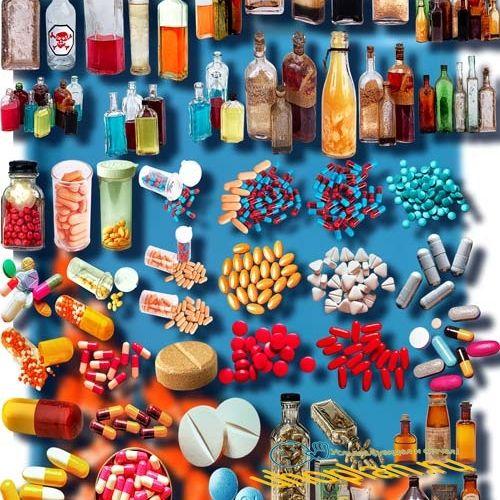 Клип-арты для фотошопа - Лекарства