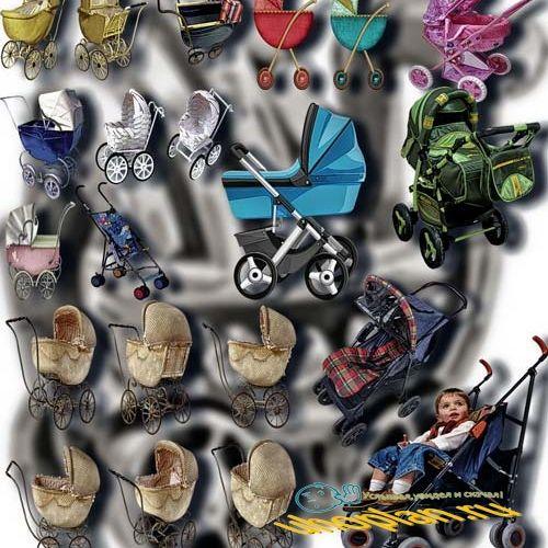 Png Клипарты - Детские коляски