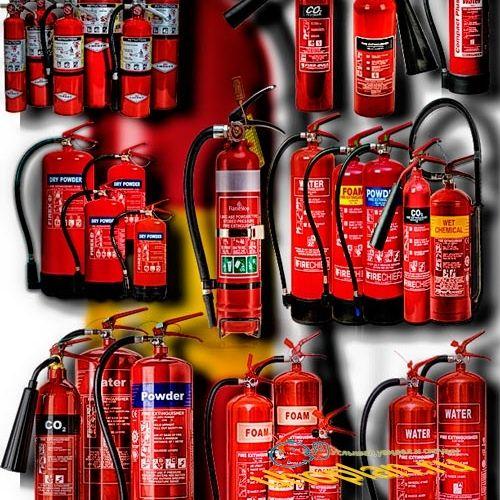 Фотошоп Png клип-арты - Огнетушители разных видов