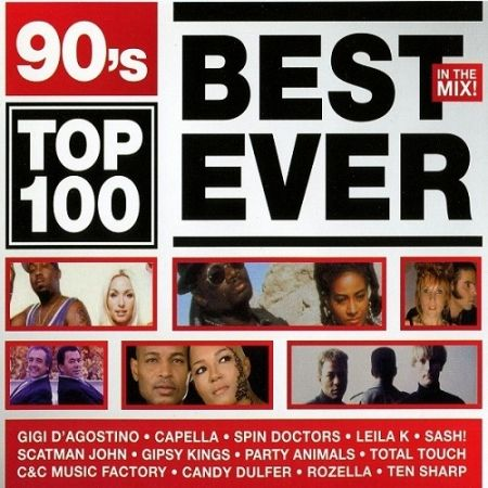 90's Top 100 Best Ever In The Mix. 3CD (2010) MP3