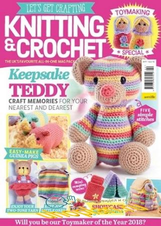 Let's Get Crafting Knitting & Crochet №102 2018