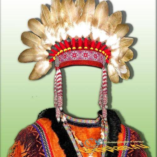 Костюм psd - Вождь апачей