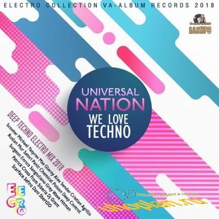 Universal Nation: Techno Ultimix (2018)