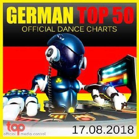 German Top 50 Official Dance Charts (17.08.2018)
