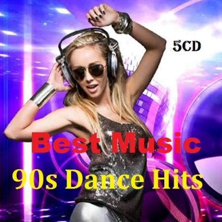 Best Music 90s Dance Hits. 5CD (2018) MP3