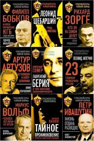 Серия - Гроссмейстеры тайной войны. 18 книг (2014-2018)