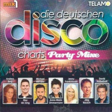 Die deutschen Disco Charts - Party Mixe. 3CD (2018) MP3