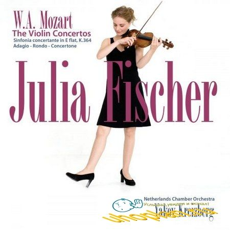 Julia Fischer - Mozart: The Violin Concertos (2019) FLAC