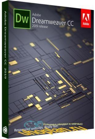 Adobe Dreamweaver CC 2019 19.0.1 (x64) by m0nkrus